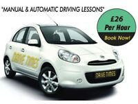 Cheap Automatic and Manual Driving Lessons in Islington and Camden