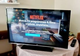 smart jvc 40 inch full hd led tv+built in apps+freeview+WIFI NOT WORKING+remote+DELIVERY