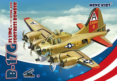- MENG KIDS mPLANE-001 B-17G FLYING FORTRESS BOMBER [Q Edition]