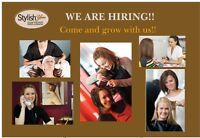 HIRING FULL TIME MANAGER & STYLISTS