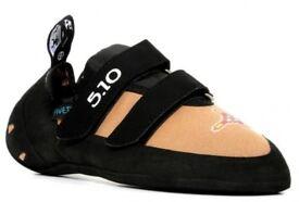 LIKE NEW Men's Five Ten Climbing Shoes (5.10) Anasazi VCS UK6.5 EU40