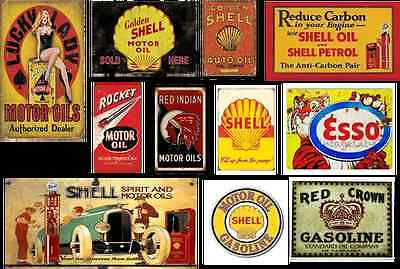 o scale gas station building decals series 2