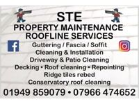External property maintenance and cleaning