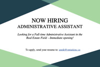 Administrative Assistant Full-time