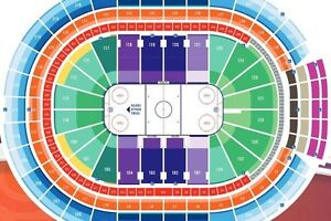 Edmonton Oilers Playoff Tickets, Lower Bowl Row 16