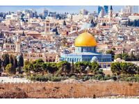 Return flight tickets to Israel - a week in this fascinating country