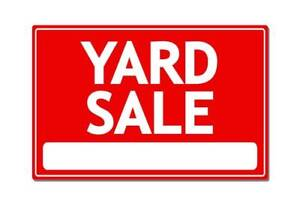 HUGE Yard Sale!! Lots of kids toys and clothes!