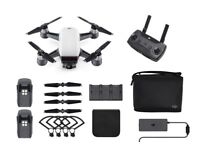 IMMACULATE DJI SPARK FLYMORE COMBO DRONE AND EXTRAS - Only flown indoors. 3mths old