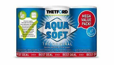 SPARPACK ! THETFORD Camping-Toilettenpapier Aqua Soft 6 Rollen statt 4