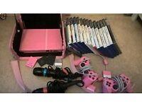 PS2 bundle in Pink