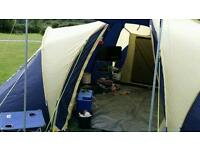 Large 3 bed tent