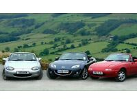 Wanted Mazda MX5 EUNOS roadster