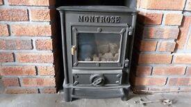 Wood Burning Stove / Log Burner - Good condition / working order