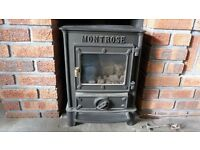 Wood Burning Stove / Log Burner - Good condition / working order