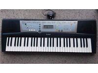 Yamaha psr203 keyboard with power supply