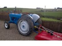 Tractor Ford 4000 Pre Force