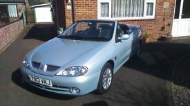 Renault Megane Cabriolet Dynamic Plus 2001 - outstanding condition