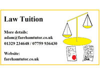 Law Tuition Offered by experienced and qualified law tutor