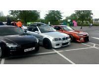 BMW 325 m sport convertible (m3 rep) perfect summer car