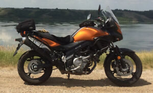 Vstrom Adventure Sport motorcycle
