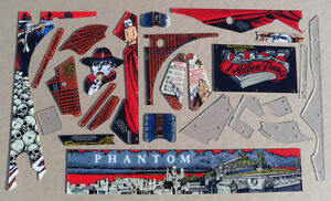 New! Phantom Of The Opera Pinball Machine Plastic Set 830-5407-XX Free Ship!