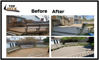DECK STAINING FOR THE BEST PRICE!