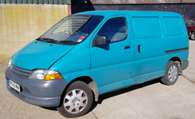 Wanted Toyota Hiace vans £700 cash same day collection 1996 1997 1998 1999 2000 2001 Breaking