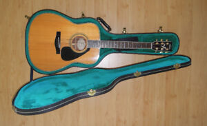 Yamaha guitar FG461S (solid top) with hardshell case