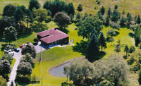 Countryside accommodation in the private home surrounded by natu