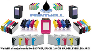 Need to fill up your printer ink?