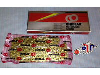 New UNIBEAR Non O Ring Gold Chain 428 x134L Fits KTM 85 YZ RM 80/85 Motocross