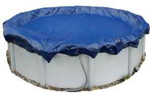 24' round winter pool cover