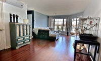 Brossard 4 1/2 condo sur le golf/on the golf course