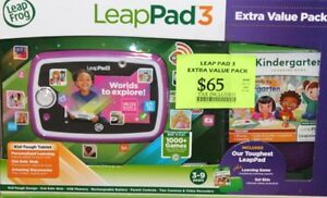 Leappad 3 Learning Tablet Extra Value Pack - Pink
