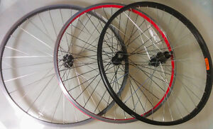 """MTB 26"""" WHEELS REAR AND FRONT"""