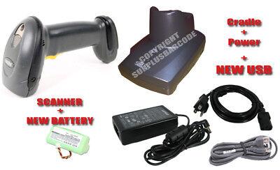 Ds6878 Wireless Barcode Scanner Cr0078-pc1f007wr Cradle Symbol Motorola New Batt