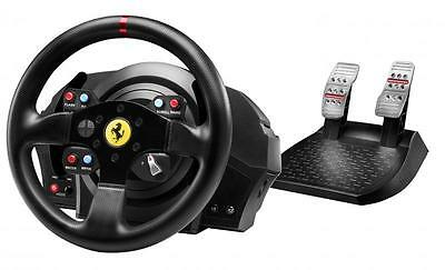NEW Thrustmaster T300 Ferrari GTE Racing Wheel metal pedals PC...