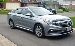SONATA SPORT TECH, NAV, 1 FEMALE OWNER. MINT+. Snow Tires