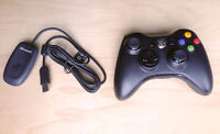 MINT, Rarely Used XBOX 360 Wireless Controller with Dongle - $30