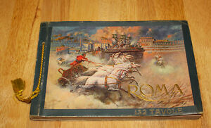 Vintage early 1930's Book Roma History.