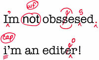 Highly Experienced Editor and Proofreader Available!