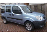 **50k** 2008 Fiat Doblo 1.3 Multijet 16v Active **Diesel** Berlingo Multispace