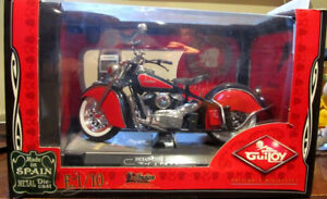 1:10 scale Guiloy Indian Chief Motorcycle 348 Model