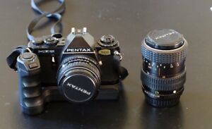Pentax ME Super with SMC 1:2 50mm & SM 40-80mm 1:2.8 Lenses