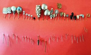 Collection of Vintage Hat Pins