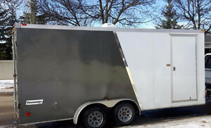2013 Enclosed Trailer with extra height