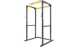 Power Rack with Lat pulldown and row attachment