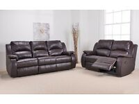 ANYA 3+2 OR CORNER REAL LATHER SOFA FOR SALE FROM ONLY £899