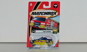 Matchbox Sand Speeder 1:64 Scale Diecast #46 Yellow Base