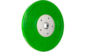 Olympic Competition Bumper Plate, 10kg WPOBCOMP10GR